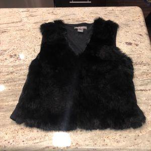 Rabbit fur shirt